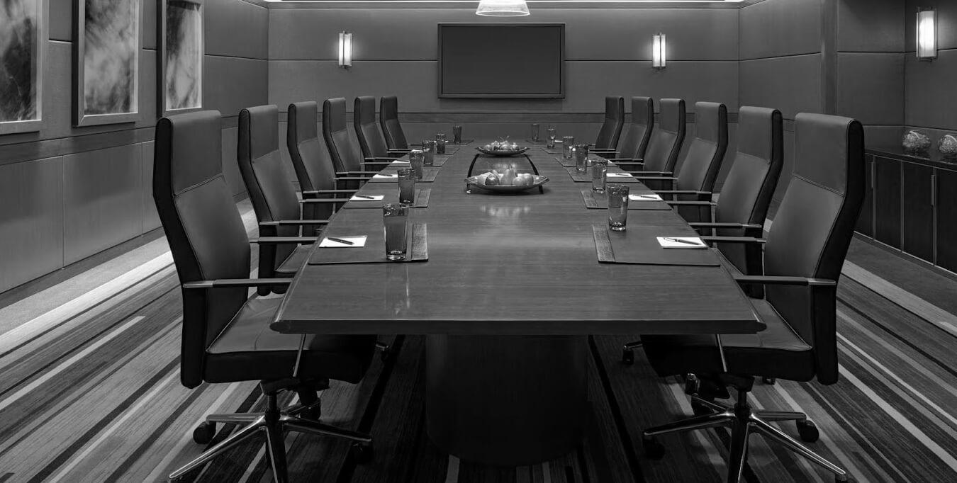 Boardroombijeenkomst
